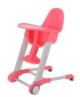 可移动餐椅粉
