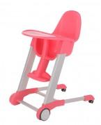 集得可移动餐椅粉