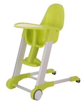可移动餐椅绿