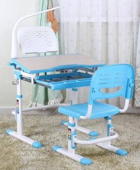 环保儿童学习桌椅套装