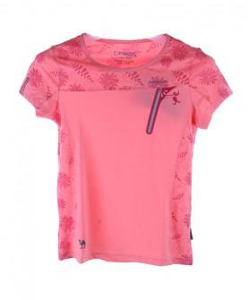 户外运动圆领短袖女童T恤