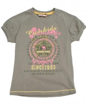 户外运动女童短袖t恤