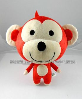 森巴猴标准25cm精品公仔