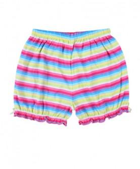 女童纯棉休闲短裤