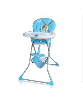便携式旅行高脚椅子(蓝色)