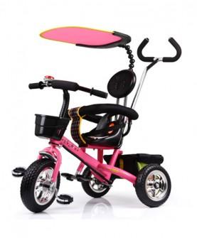 溜娃神器三轮车脚踏车
