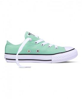 浅绿色低帮童鞋