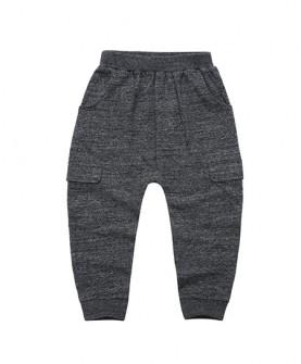 针织九分哈伦裤
