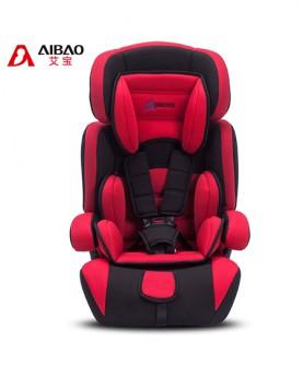 宝宝汽车车载坐椅(红黑)