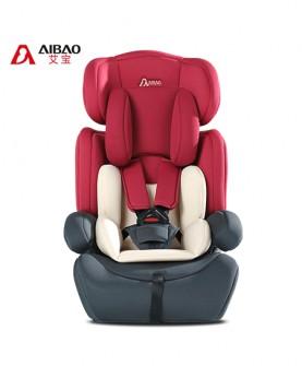 婴儿安全座椅(红灰色)