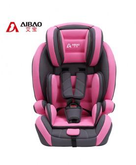 儿童汽车安全座椅(玫红)