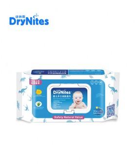 婴儿手口润肤湿巾