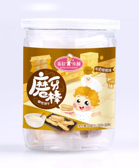 麦拉小厨米粉牛奶核桃味磨牙棒代理,样品编号:57335