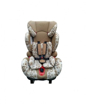 儿童安全座椅(咖啡色)