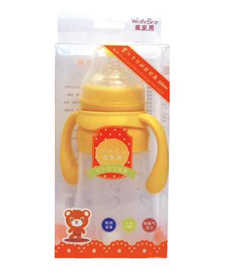 唯昵熊宽口自动硅胶奶瓶240ml