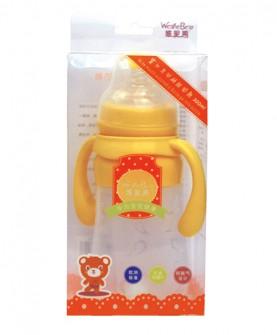 宽口自动硅胶奶瓶240ml