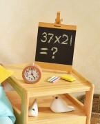 玖木九美儿童支架式家用实木写字板