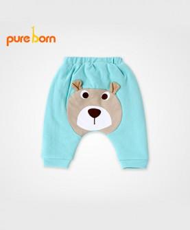 婴儿加厚棉裤