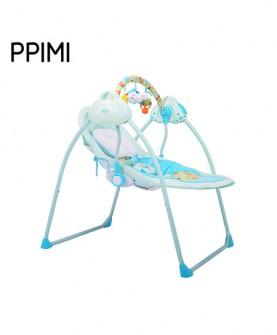 婴儿电动摇篮(蓝色)