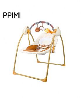 婴儿电动摇篮(黄色)