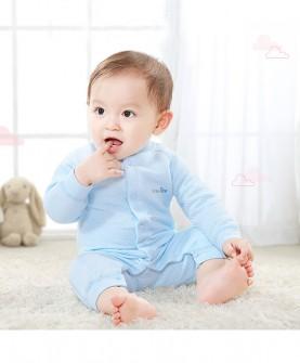 婴儿连体衣秋冬
