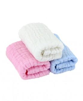 三色水洗澡巾