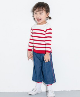 Ugobaby(优果贝贝)女童秋冬装套头毛衣