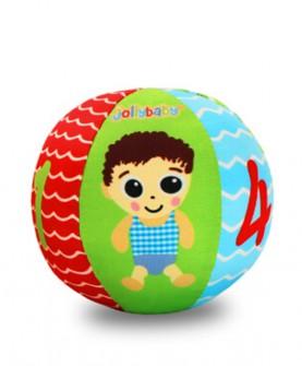 快乐宝贝儿童玩具婴儿手抓球