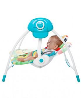 儿童婴幼儿玩具欢乐动物便携秋千