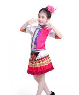 儿童少数民族服装花瑶族苗族服饰