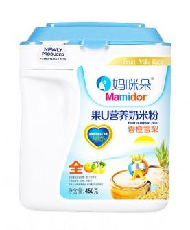 450克果U香橙雪梨营养奶米粉
