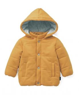 婴儿童装男女宝可脱卸帽夹克棉服