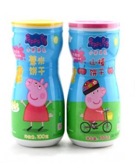 小猪佩奇山楂/薏米饼干