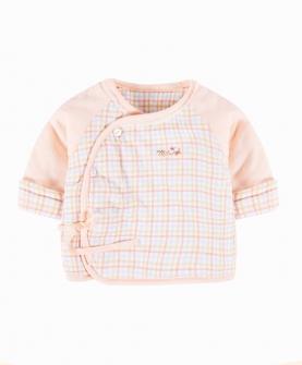 新生儿衣服0-3月薄棉上衣