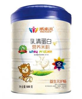 益生元护肠乳清蛋白营养米粉
