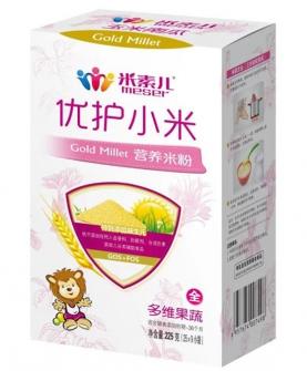 多维果蔬优护小米营养米粉盒装