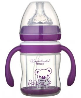 奶瓶直筒型紫色