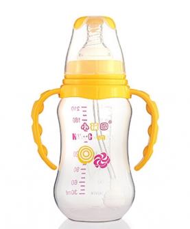 KC652标口自动弧形PP安全奶瓶210 ML