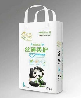熊猫丝薄柔护尿裤L62片