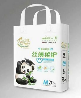 熊猫丝薄柔护尿裤M70片