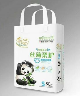 熊猫丝薄柔护尿裤S80片