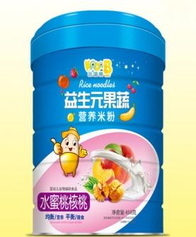 水蜜桃核桃营养米粉