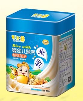 核桃莲子营养米乳