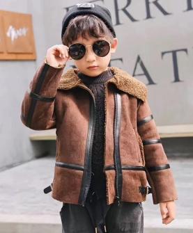 秋冬款男童外套