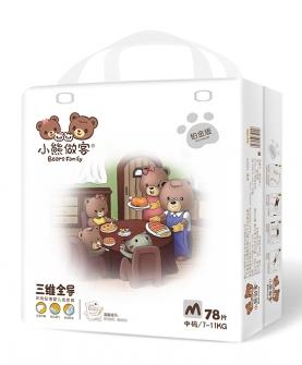 三维全导婴儿纸尿裤M70片