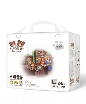 三维全导婴儿纸尿裤L26片
