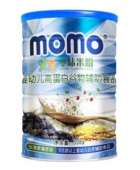 嬰幼兒高蛋白棗味米粉