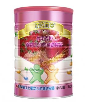 嬰幼兒谷物水果麥粉