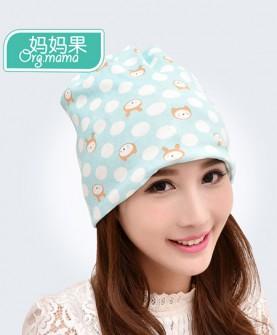 春秋款全棉保暖孕妇帽