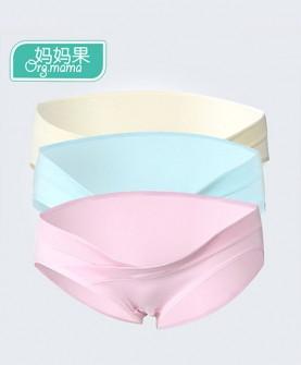 孕妇纯棉低腰内裤